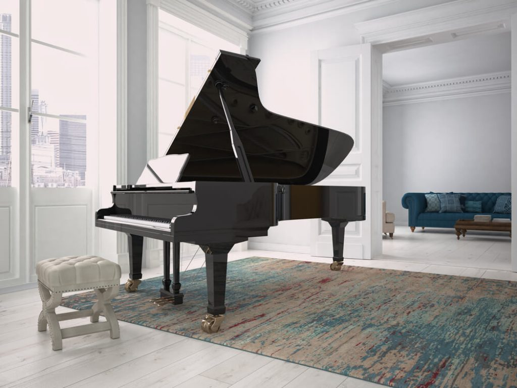 classic example of a grand piano